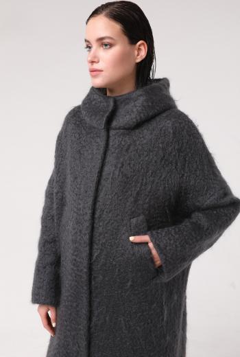 Пальто-парка с капюшоном