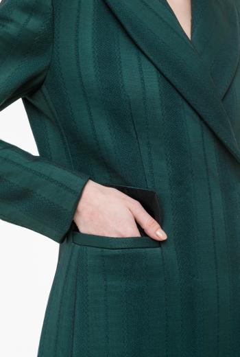 Жакет костюмный с сеткой