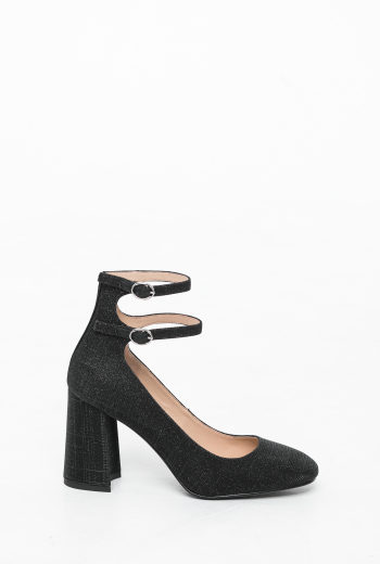 Туфли с глиттером