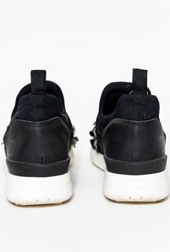 Текстильные кроссовки с декором