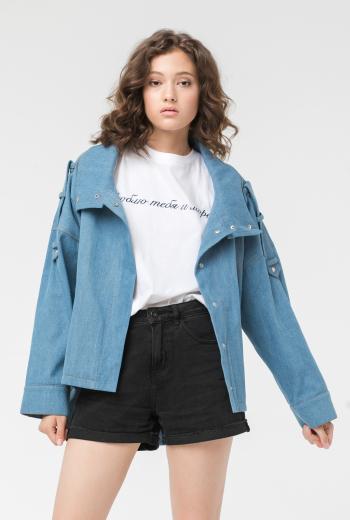 Джинсовая куртка -oversize