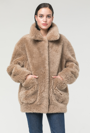 Двусторонняя меховая куртка